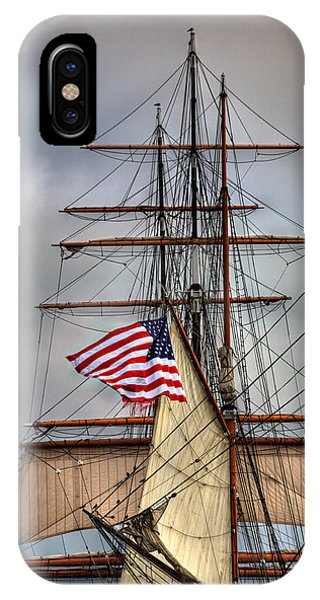 Star Of India Stars And Stripes IPhone Case