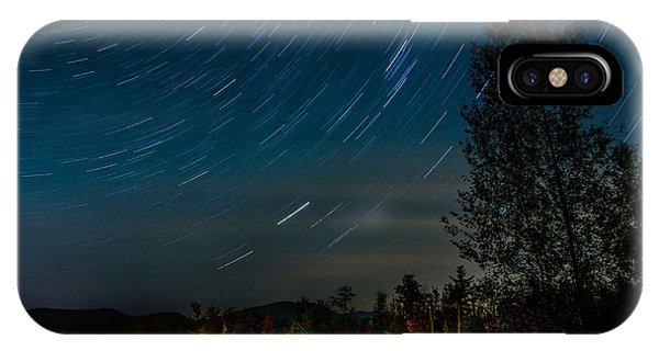 Star Trails Car Trails IPhone Case