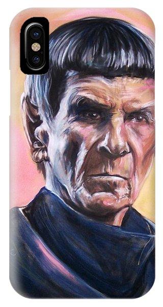 Star Trek Old Spock  IPhone Case