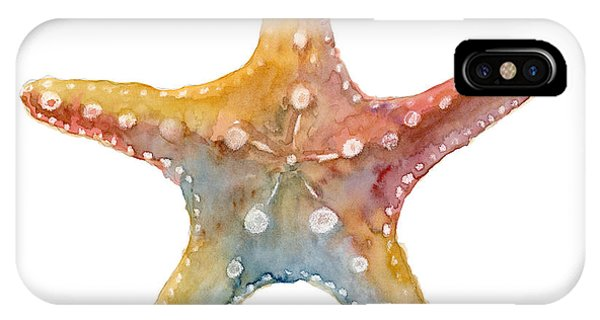 Life iPhone Case - Starfish by Amy Kirkpatrick