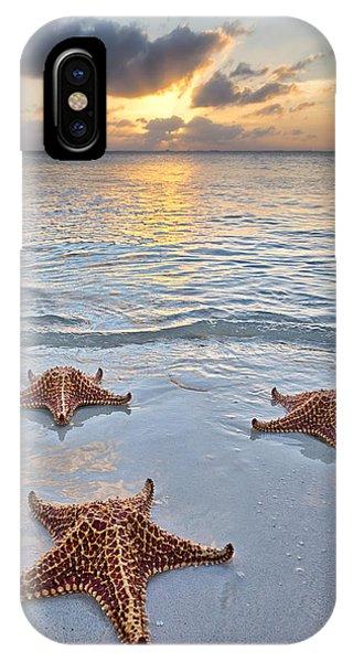 Starfish Beach Sunset IPhone Case