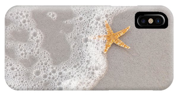 Starfish In The Surf IPhone Case
