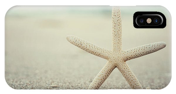 Starfish On Beach Vintage Seaside New Jersey  IPhone Case