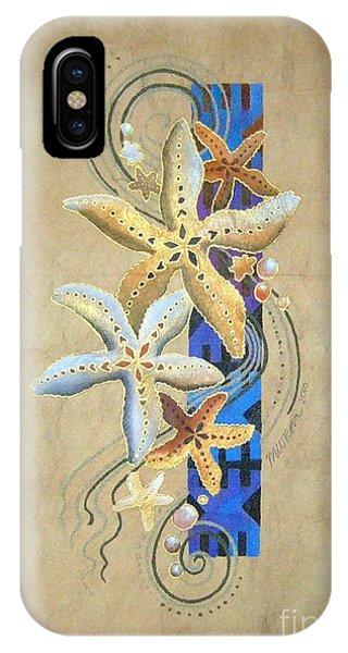 Starfish On Blue Masi IPhone Case