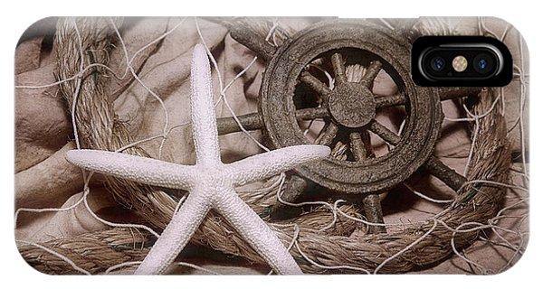 Tan iPhone Case - Starfish Still Life by Tom Mc Nemar