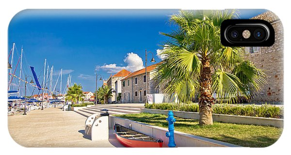 Stari Grad On Hvar Island IPhone Case