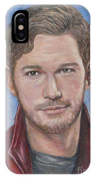 iPhone Case - Starlord / Peter Quill / Chris Pratt by Christine Jepsen