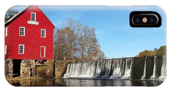 Starr's Mill In Senioa Georgia IPhone Case
