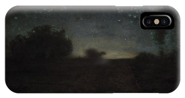Shooting iPhone Case - Starry Night by Jean-Francois Millet