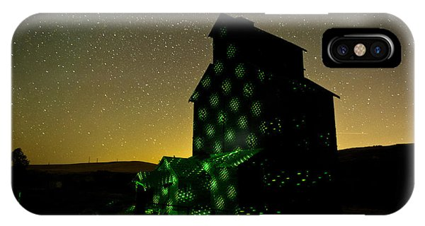 Starry Night Light Painting. Phone Case by Jackie Follett