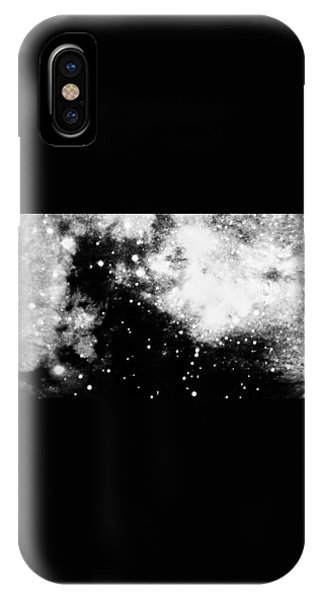 Stars And Cloud-like Forms In A Night Sky IPhone Case
