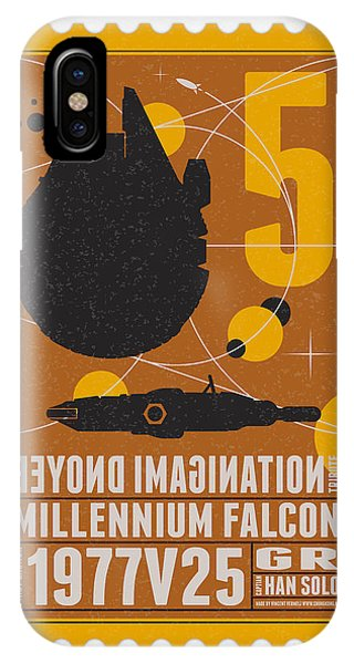 Starschips 05-poststamp -star Wars IPhone Case