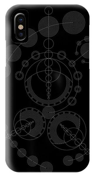 Wood Carving iPhone Case - Starship Inverse by DB Artist