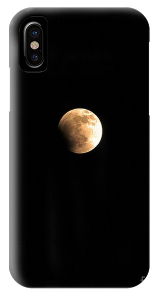 Start Of The Blood Moon 2 Phone Case by Rebecca Christine Cardenas