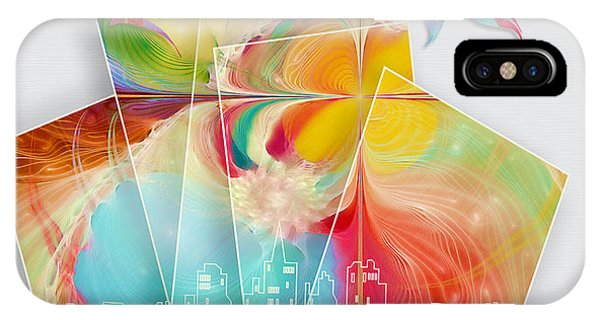 Start Painting The Town Phone Case by Gayle Odsather