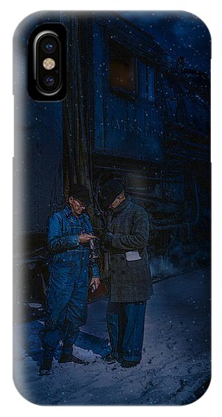 Starting To Snow Time To Go IPhone Case