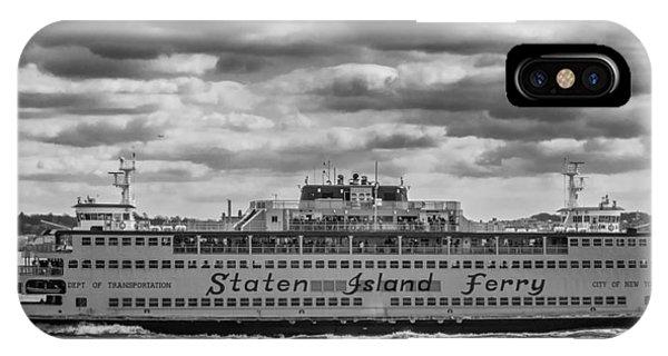 Staten Island Ferry 10484 IPhone Case