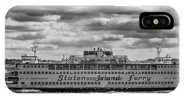 Staten Island Ferry 10484 IPhone Case