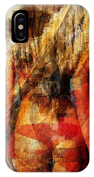 Leave iPhone Case - Statuary by Andrea Barbieri