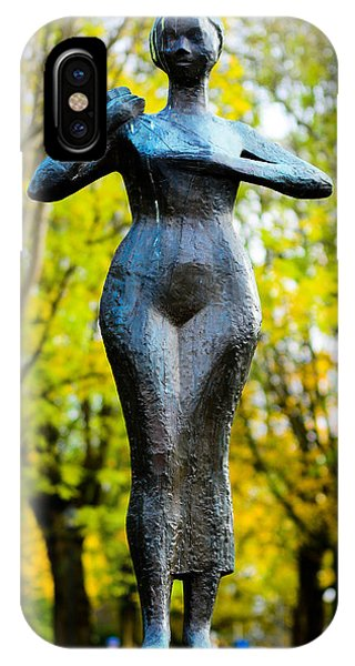 Statue Of A Woman  IPhone Case
