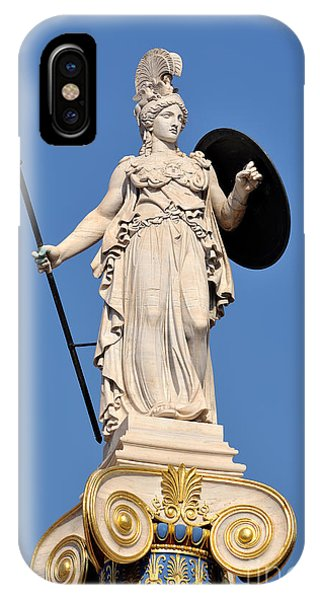 Statue Of Athena IPhone Case