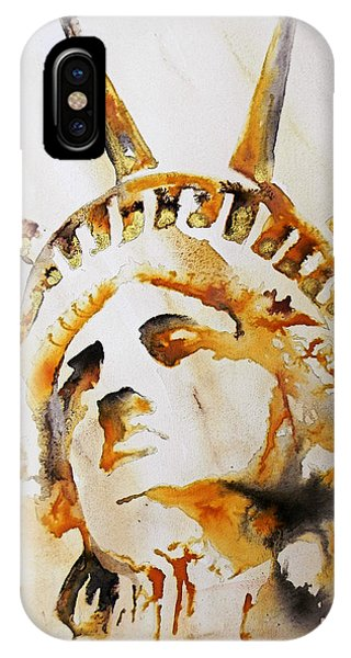 Statue Of Liberty Closeup IPhone Case