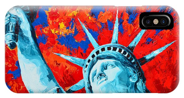 Statue Of Liberty - Lady Liberty IPhone Case