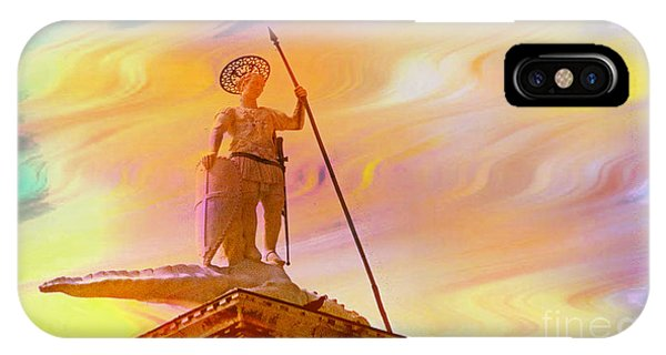 Statue Of St. Theodor Venice Italy - 2 IPhone Case