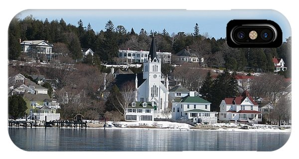 Ste. Anne's Catholic Church On Mackinac Island IPhone Case