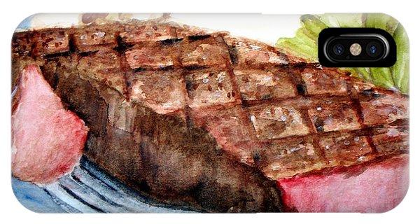 Steak Anyone IPhone Case