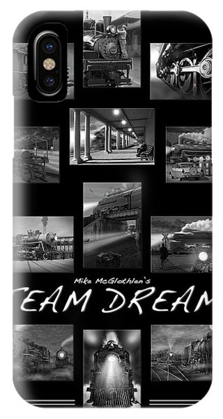 Railroad Station iPhone Case - Steam Dreams by Mike McGlothlen