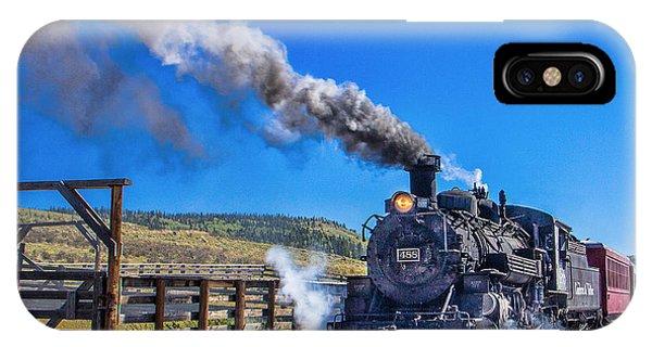 Steam Engine Relic IPhone Case