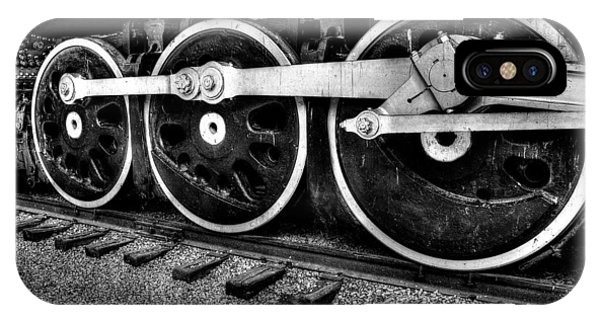 Steam Engine Wheels Phone Case by Honour Hall