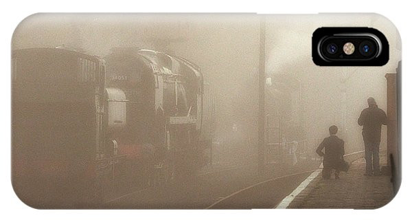 Steam Engines At Dawn IPhone Case