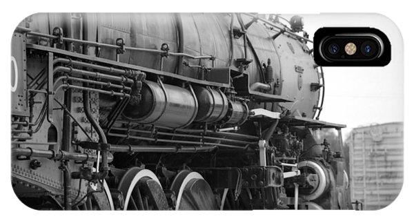 Steam Locomotive 1519 - Bw 02 IPhone Case