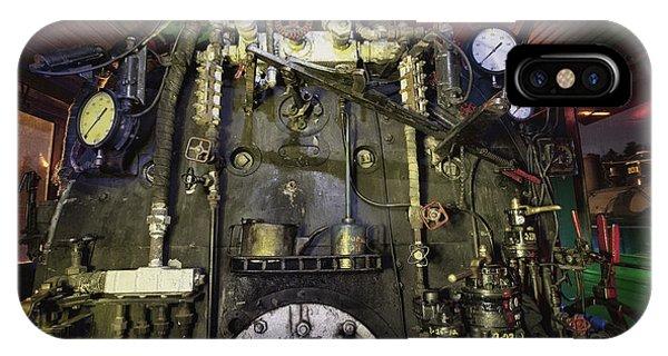 Steam Locomotive Engine IPhone Case