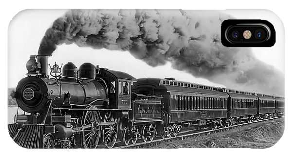 Steam Locomotive No. 999 - C. 1893 IPhone Case
