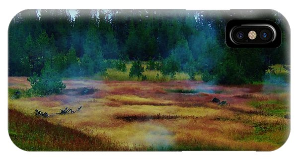 Steam Marsh IPhone Case