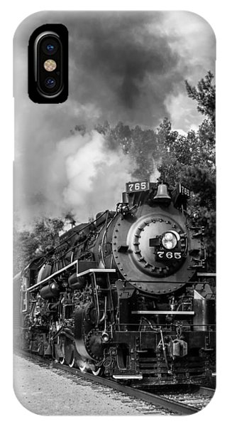 Steam On The Rails IPhone Case