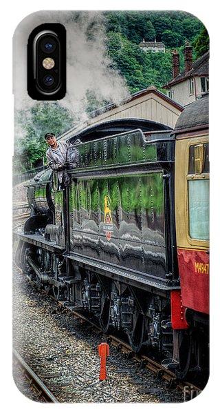 Sleeper iPhone Case - Steam Train 3802 by Adrian Evans