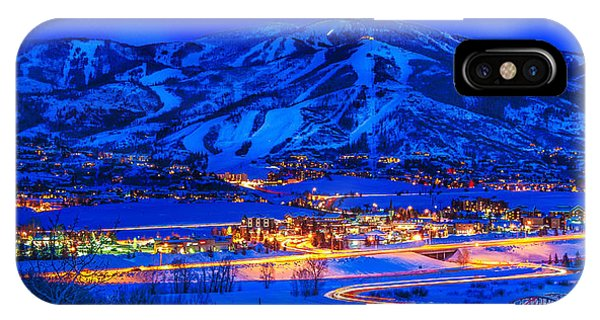 Steamboat Springs IPhone Case