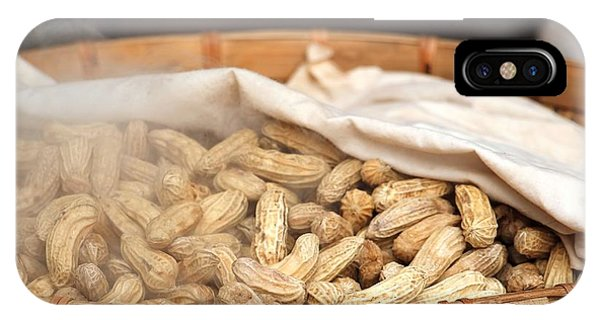 Steamed Peanuts IPhone Case
