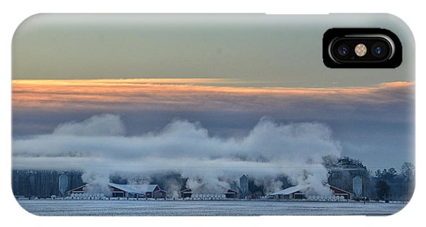 Steaming Houses IPhone Case