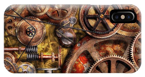 Steampunk - Gears - Inner Workings IPhone Case