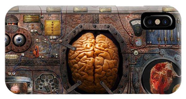 Steampunk - Information Overload IPhone Case