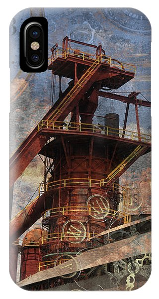 Steampunk Iron Mill IPhone Case