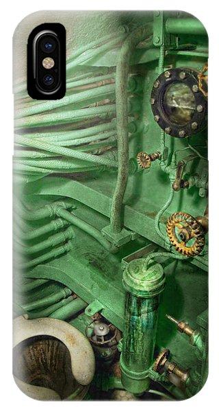 Steampunk - Naval - Plumbing - The Head IPhone Case