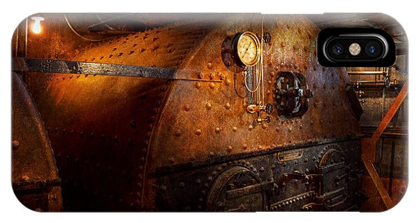 Steampunk - Plumbing - The Home Of A Stoker  IPhone Case