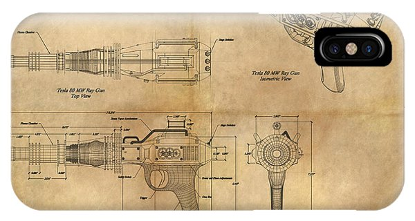 Steampunk Raygun IPhone Case