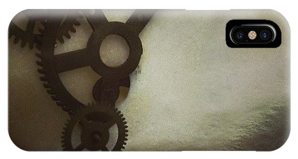 Steampunk iPhone Case - #steampunk #skull #clockworks #cogs by Heidi Cutter